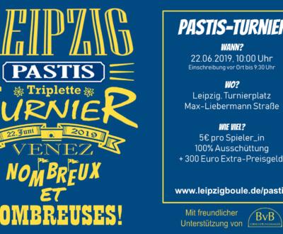 Einladung Pastis-Turnier 2019