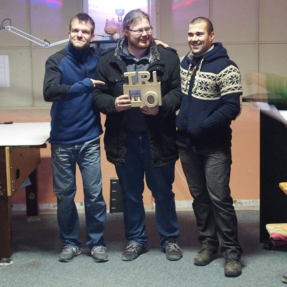 TRIO Turnier Erster Platz